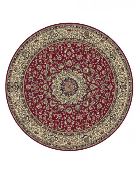 Alfombra redonda clásica KASBAH 12217 474