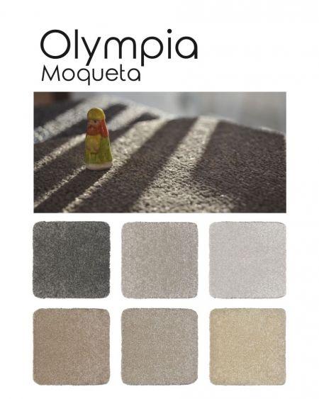 Moqueta de pelo cortado Olympia