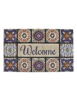 Felpudo diseño hidráulico Welcome