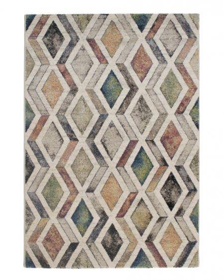 Alfombra moderna geométrica INFINITY 32910 6324 multicolor