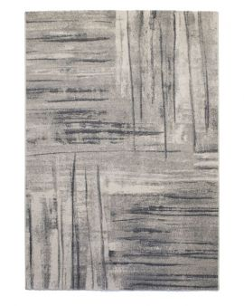 Alfombra moderna INFINITY 32936 6298 en tonos grises
