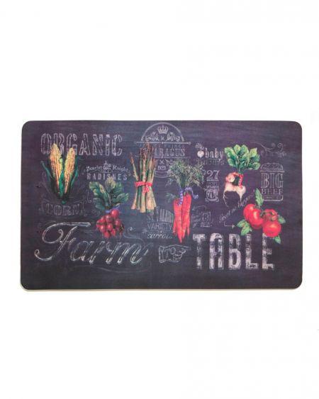 Alfombra de cocina Farm To Table