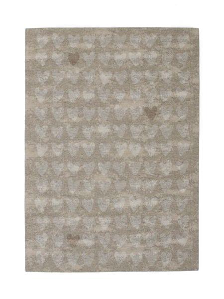 Alfombra de verano Sandlove. Estilo romántico en color arena. Barata, confortable y de fácil limpieza.