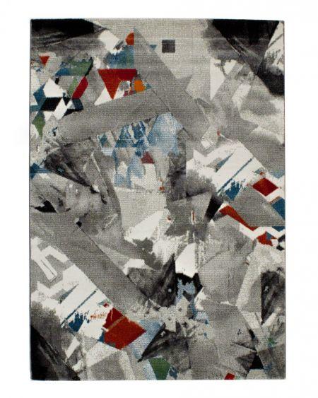 Alfombra moderna Lenny dibujo abstracto 21740