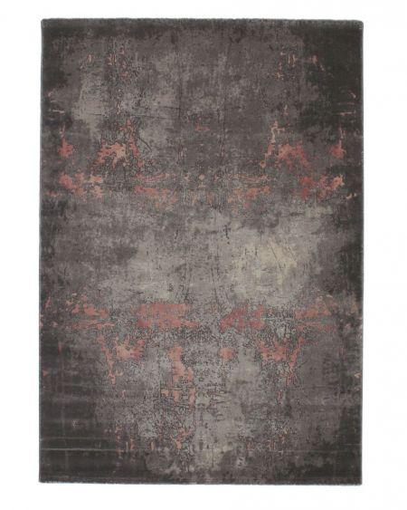 Alfombra estilo vintage industrial Mesina 23127 rosa