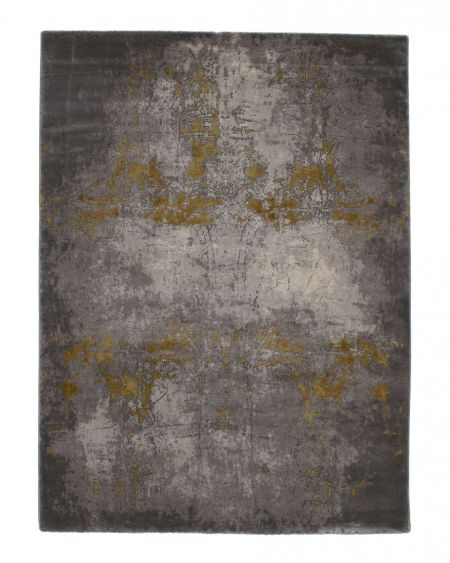 Alfombra estilo vintage industrial Mesina 23127 oro
