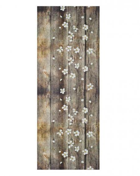 Alfombra lavable Spring estilo madera