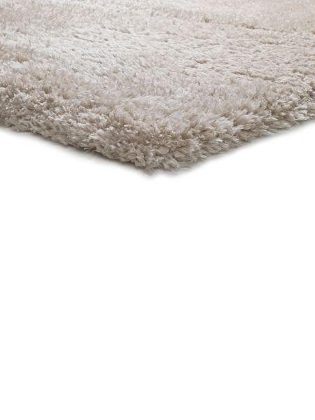 alfombra de pelo largo floki beig al detalle