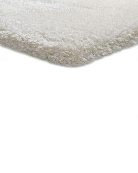 alfombra de pelo largo floki blanco al detalle