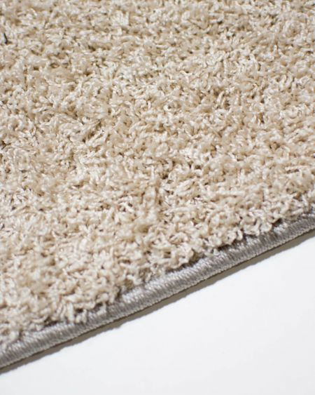 alfombra redonda princess sand al detalle