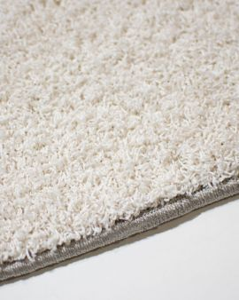 alfombra redonda princess white detalle