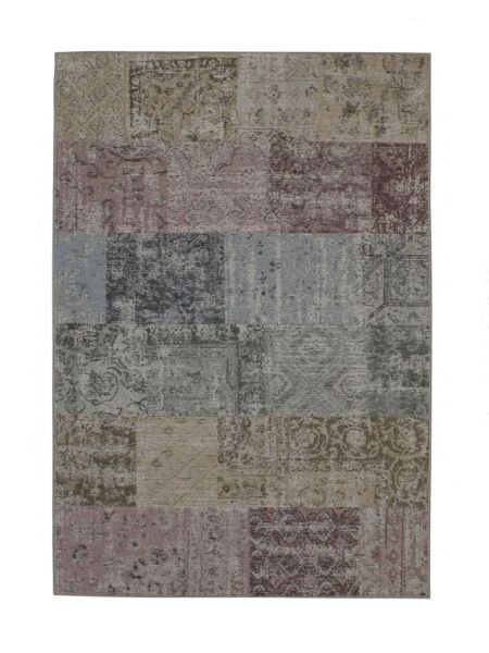 Alfombra vintage patchwork Amalfi 94739 9002