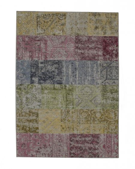 Alfombra vintage patchwork Amalfi 94739 9001