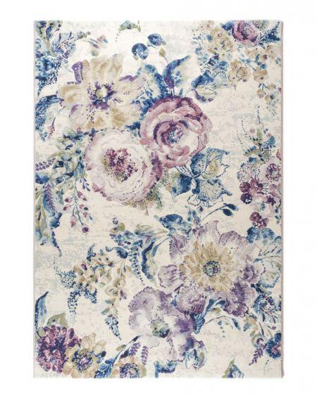 Alfombra floral Argentum 63349 6191