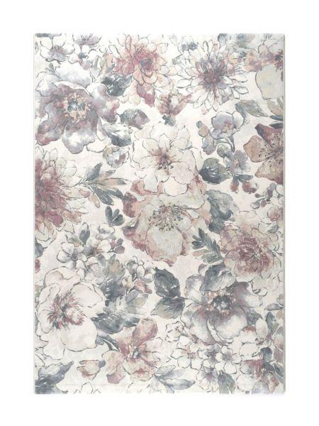 Alfombra floral Argentum 63528 6747