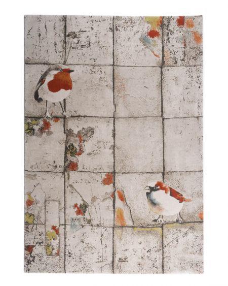 Alfombra Vintage Birds
