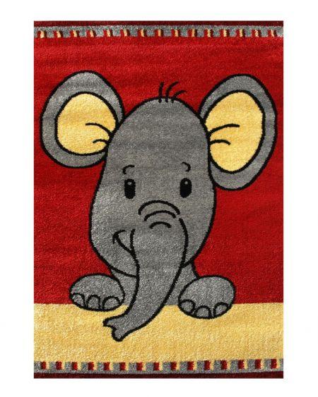 Joy elefante rojo