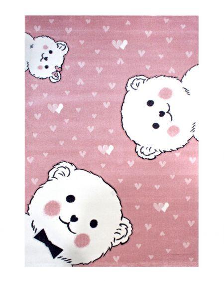 Alfombra Oso 22608 rosa